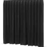 Pendrillon Noir 3x6m – 2