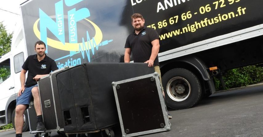 Night Fusion fusionne son et lumière pour animer les événements