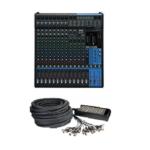 table de Mixage Yamaha MG16XU + multipaire